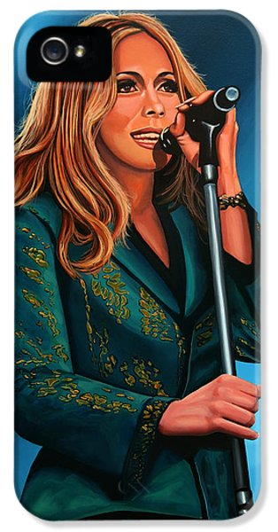 Anouk Painting IPhone 5 / 5s Case by Paul Meijering