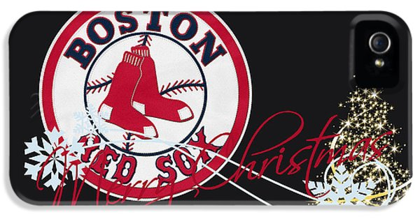 Present iPhone 5 Cases - Boston Red Sox iPhone 5 Case by Joe Hamilton