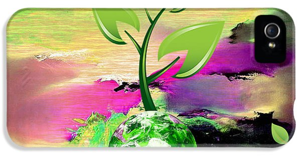 Eco iPhone 5 Cases - Eco iPhone 5 Case by Marvin Blaine