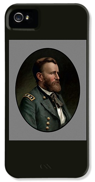 President iPhone 5 Cases - General Grant iPhone 5 Case by War Is Hell Store