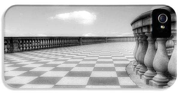 Chessboard iPhone 5 Cases - Livorno iPhone 5 Case by Joana Kruse