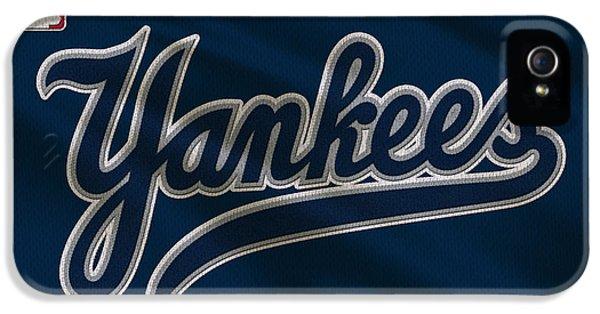 New York Yankees Uniform IPhone 5 / 5s Case by Joe Hamilton