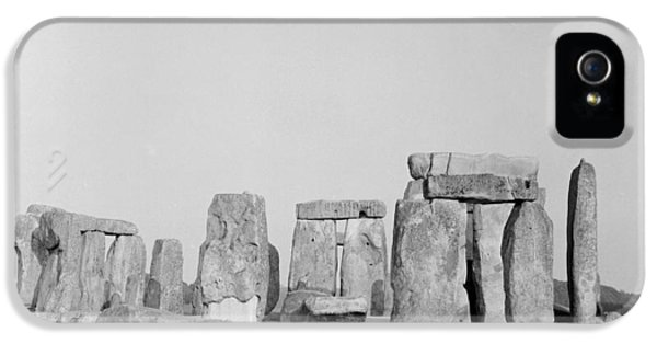 Stone iPhone 5 Cases - Stonehenge iPhone 5 Case by Anonymous