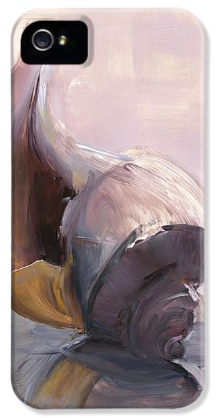 Conch iPhone 5 Cases - RCNpaintings.com iPhone 5 Case by Chris N Rohrbach
