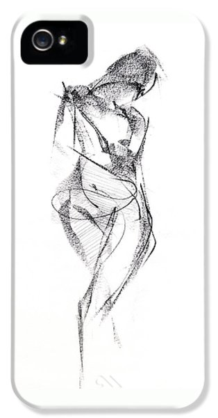 Black And White iPhone 5 Cases - RCNpaintings.com iPhone 5 Case by Chris N Rohrbach