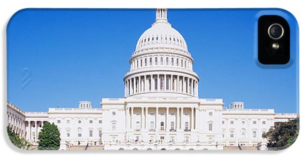 House Of Representatives iPhone 5 Cases - Facade Of A Government Building iPhone 5 Case by Panoramic Images