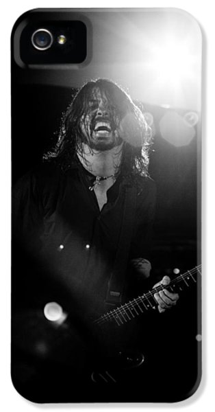 Dave Grohl iPhone 5 Cases - Foo Fighters iPhone 5 Case by Ben James