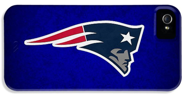 Padded iPhone 5 Cases - New England Patriots iPhone 5 Case by Joe Hamilton