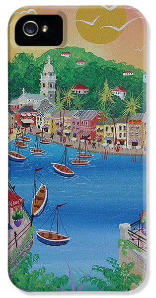 Harbour iPhone 5 Cases - Untitled iPhone 5 Case by Herbert Hofer