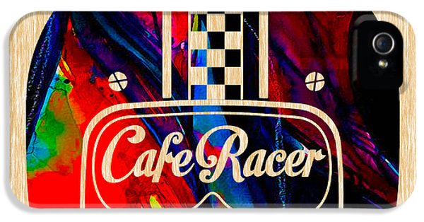 Cafe Racer Motorcycle IPhone 5 / 5s Case by Marvin Blaine