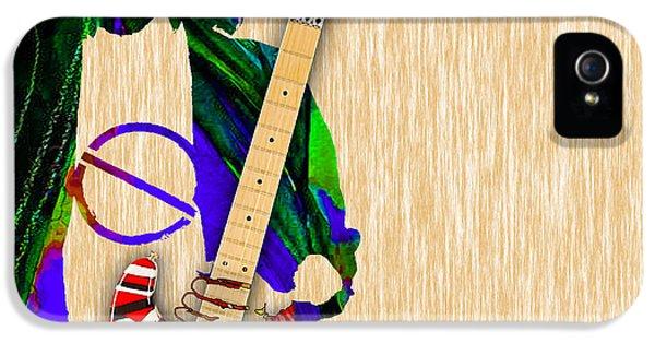 Eddie Van Halen Special Edition IPhone 5 / 5s Case by Marvin Blaine