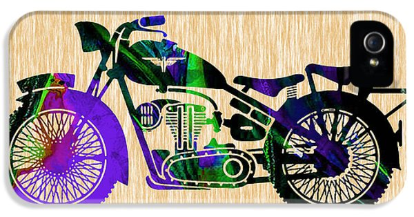 Motorcycle IPhone 5 / 5s Case by Marvin Blaine