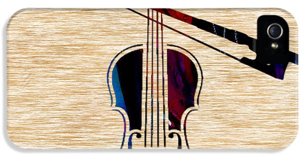 Violin And Bow IPhone 5 / 5s Case by Marvin Blaine