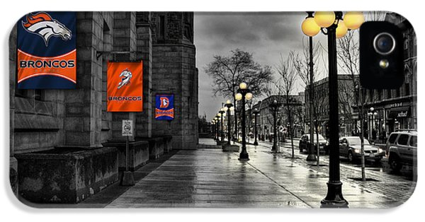 Denver Broncos IPhone 5 / 5s Case by Joe Hamilton