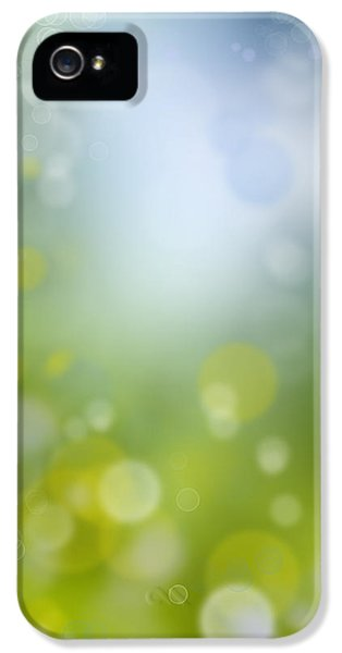 Futuristic iPhone 5 Cases - Abstract background iPhone 5 Case by Les Cunliffe