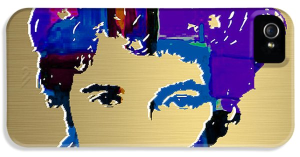 Bruce Springsteen Gold Series IPhone 5 / 5s Case by Marvin Blaine