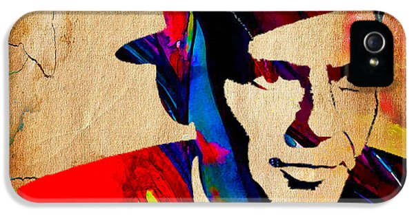 Frank Sinatra IPhone 5 / 5s Case by Marvin Blaine