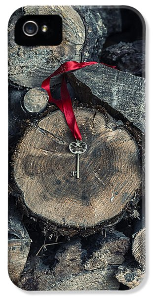 Firewood iPhone 5 Cases - Key iPhone 5 Case by Joana Kruse