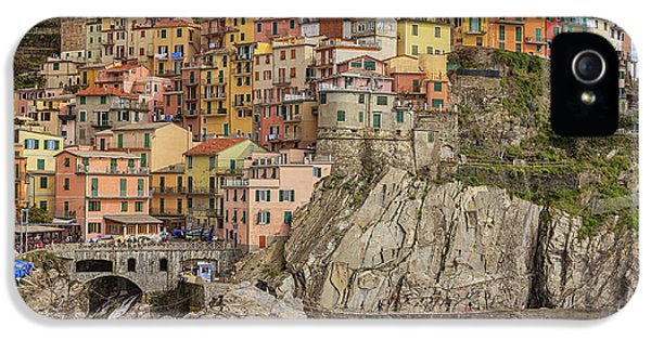 Harbour iPhone 5 Cases - Manarola iPhone 5 Case by Joana Kruse