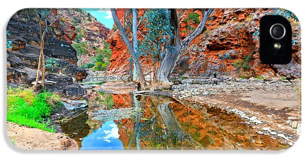 Mcdonnell iPhone 5 Cases - Serpentine Gorge Central Australia iPhone 5 Case by Bill  Robinson