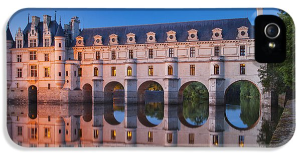 Castle iPhone 5 Cases - Chateau Chenonceau iPhone 5 Case by Brian Jannsen