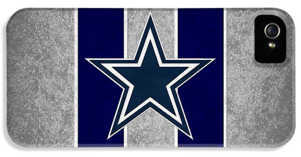 Padded iPhone 5 Cases - Dallas Cowboys iPhone 5 Case by Joe Hamilton