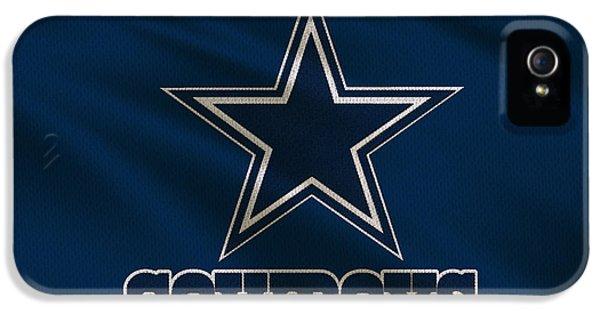Dallas Cowboys Uniform IPhone 5 / 5s Case by Joe Hamilton