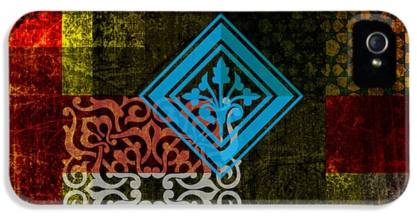 Arabic iPhone 5 Cases - Islamic Motif 01 iPhone 5 Case by Corporate Art Task Force