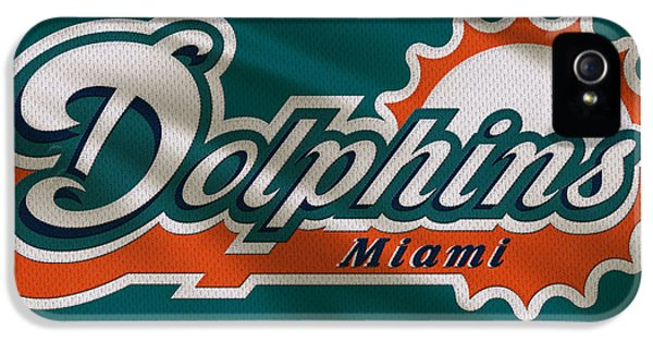 Miami Dolphins Uniform IPhone 5 / 5s Case by Joe Hamilton