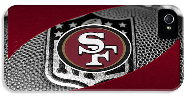 Padded iPhone 5 Cases - San Francisco 49ers iPhone 5 Case by Joe Hamilton