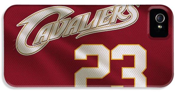 Cleveland Cavaliers Uniform IPhone 5 / 5s Case by Joe Hamilton