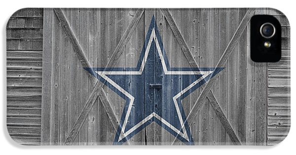 Balls iPhone 5 Cases - Dallas Cowboys iPhone 5 Case by Joe Hamilton