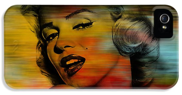 Marilyn Monroe IPhone 5 / 5s Case by Marvin Blaine