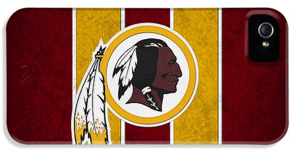 Padded iPhone 5 Cases - Washington Redskins iPhone 5 Case by Joe Hamilton