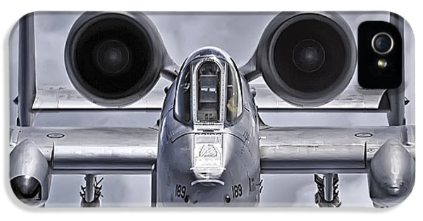 Usaf iPhone 5 Cases - A-10 Thunderbolt II iPhone 5 Case by Adam Romanowicz