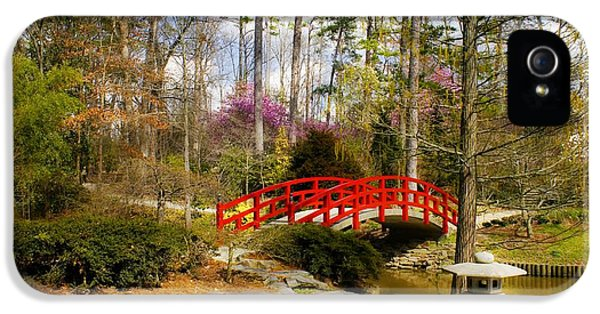 A Bridge To Spring IPhone 5 / 5s Case by Benanne Stiens