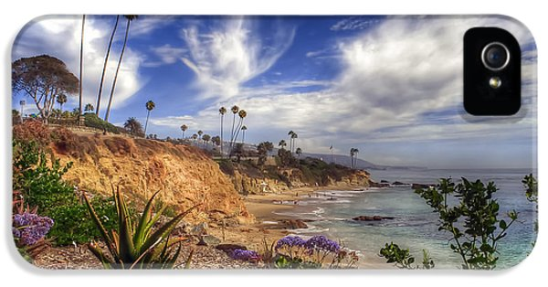 Orange County iPhone 5 Cases - A Day in Laguna Beach iPhone 5 Case by Sean Foster