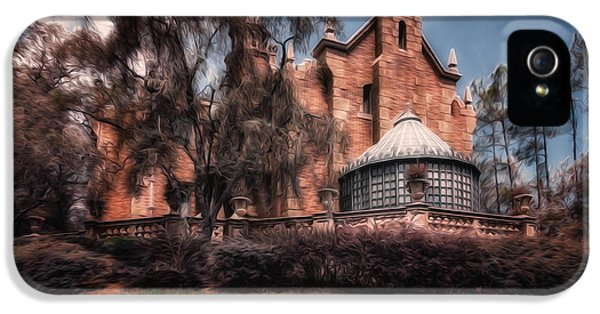 Haunted Houses iPhone 5 Cases - A Haunting House iPhone 5 Case by Joshua Minso