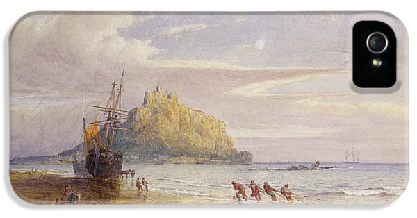 Net iPhone 5 Cases - A September Evening, St Michaels Mount, Cornwall iPhone 5 Case by John Mogford