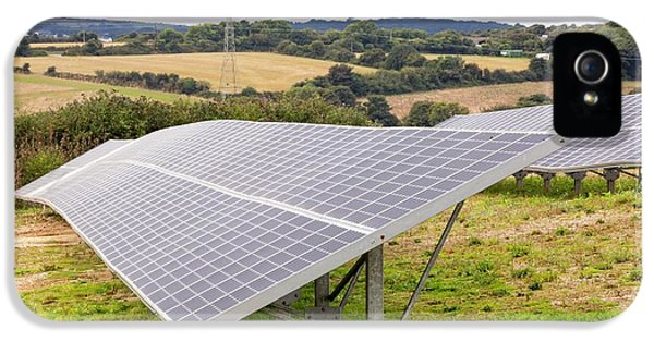 A Solar Park At Wheal Jane IPhone 5 / 5s Case by Ashley Cooper