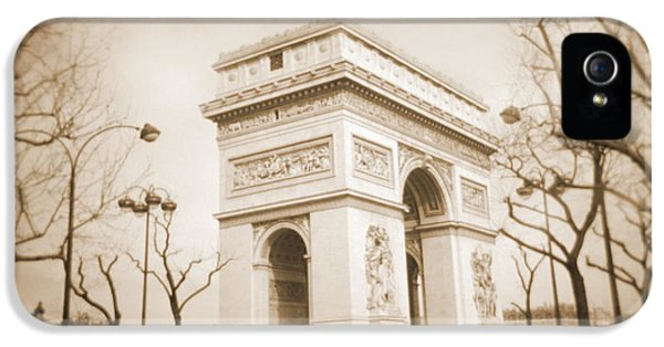 Arc iPhone 5 Cases - A Walk Through Paris 2 iPhone 5 Case by Mike McGlothlen