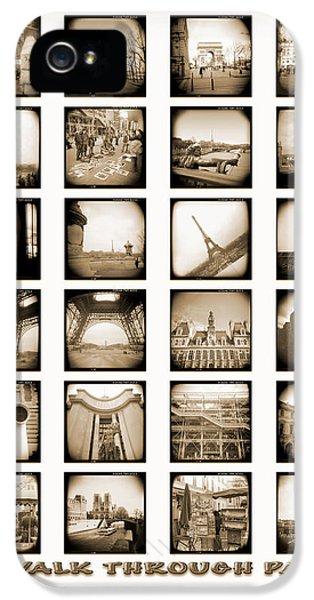 Arc iPhone 5 Cases - A Walk Through Paris iPhone 5 Case by Mike McGlothlen