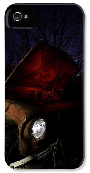 Abandoned iPhone 5 Cases - Abandoned Truck iPhone 5 Case by Cale Best