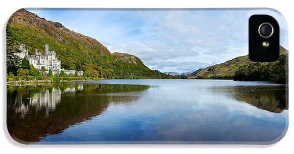 Social History iPhone 5 Cases - Abbey On The Banks Of Fannon Pool iPhone 5 Case by Panoramic Images