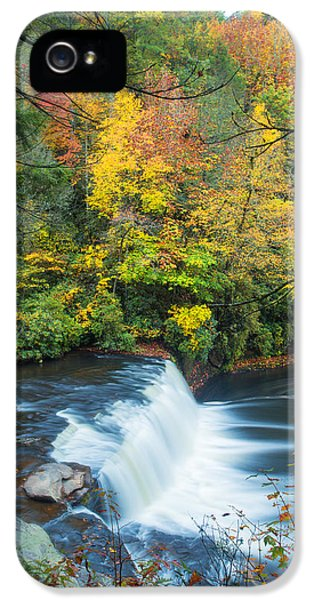 River iPhone 5 Cases - Above Hooker Falls iPhone 5 Case by Andres Leon