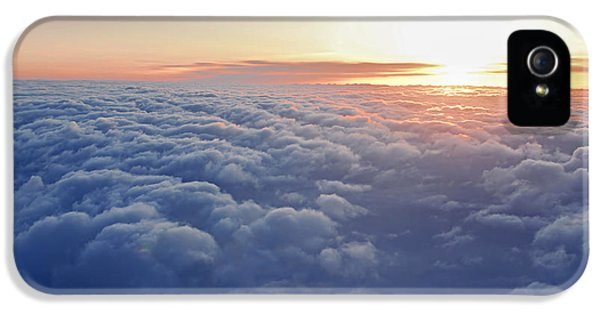 Sky iPhone 5 Cases - Above the clouds iPhone 5 Case by Elena Elisseeva