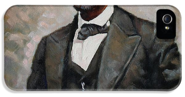 Abraham Lincoln iPhone 5 Cases - Abraham Lincoln iPhone 5 Case by Ylli Haruni