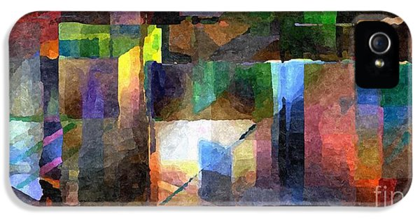 Admin Prints iPhone 5 Cases - Abstract Palette March 2013 - 002 - AMCG iPhone 5 Case by Michael C Geraghty