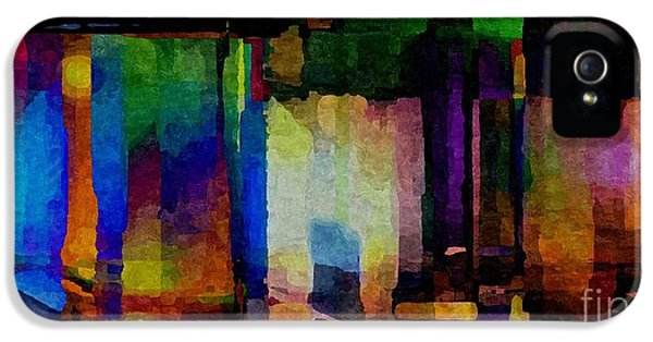 Admin Prints iPhone 5 Cases - Abstract Palette March 2013 - 004 - AMCG iPhone 5 Case by Michael C Geraghty