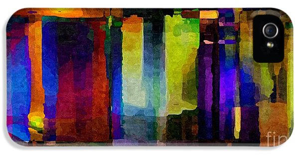 Admin Prints iPhone 5 Cases - Abstract Palette March 2013 - 007 - AMCG iPhone 5 Case by Michael C Geraghty